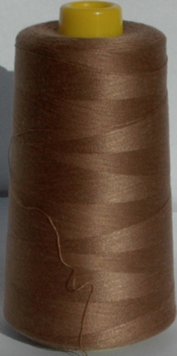Sewing Machine & Overlocker Thread - Light Brown